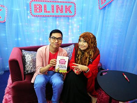 Bersama penulis novel remaja popular Ain Maisarah