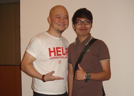 Bersama pereka selebriti Eric Leong