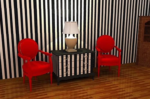 perabot yang dicantikkan semula