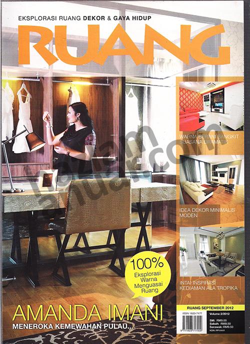 cover RUANG magazine September 2012