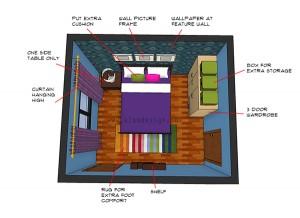 Bedroom Designer on Small Bedroom 3d Design