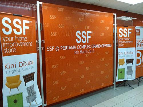 Majilis perasmian kedai berkonsep SSF