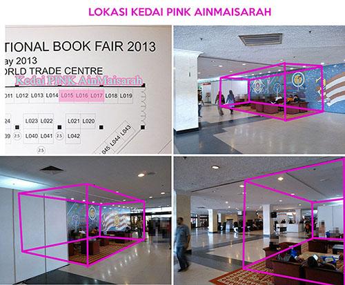 Lokasi Kedai Pink Ain Maisarah di PBAKL-PWTC