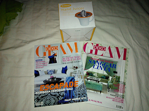 Majalah Glam Deko dengan percuma satu isu lepas!