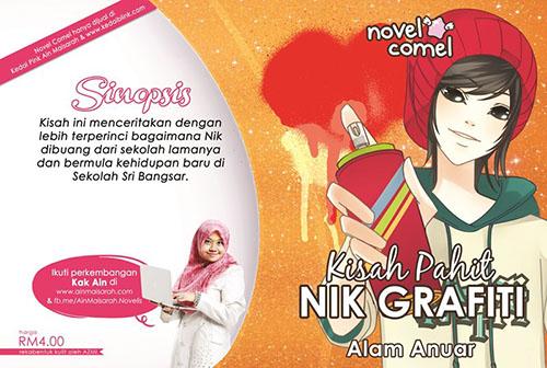 Novel Comel- Kisah Pahit Nik Grafiti