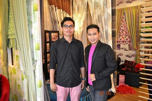 Bersama pemilik Lentera Creative Home- Tuan Amran