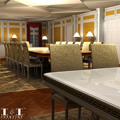 3D visual ruang oleh I & I Interior
