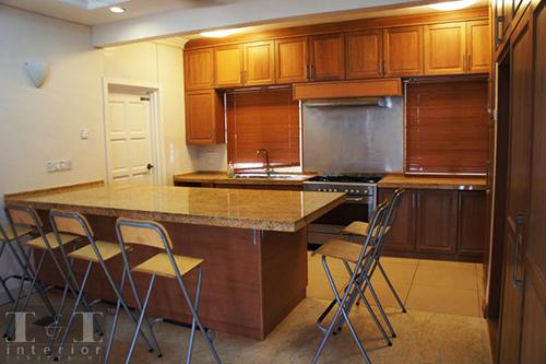 Ruang dapur oleh I & I Interior