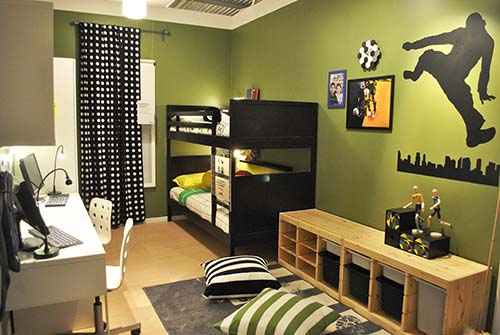IKEA Children's Room 02_bilik Kanak-kanak_Hazlam Anuar