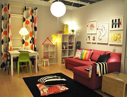 IKEA Living & Dining 06_ruang tamu dan ruang makan_Hazlam Anuar