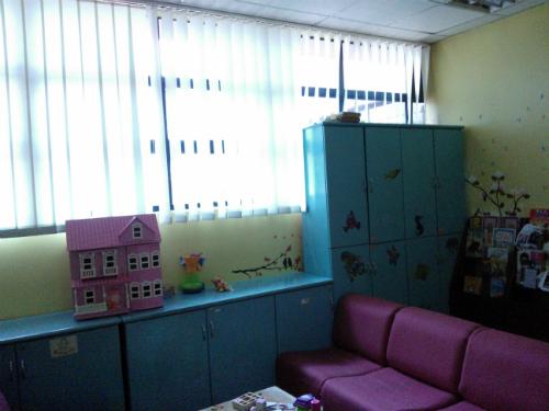 Ruang rehat pediatrik 4D_storan
