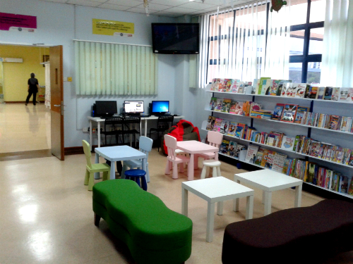 perpustakaan mini PPUKM view 2