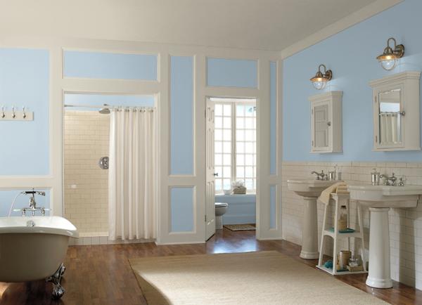 warna bilik air_elusive blue_behr
