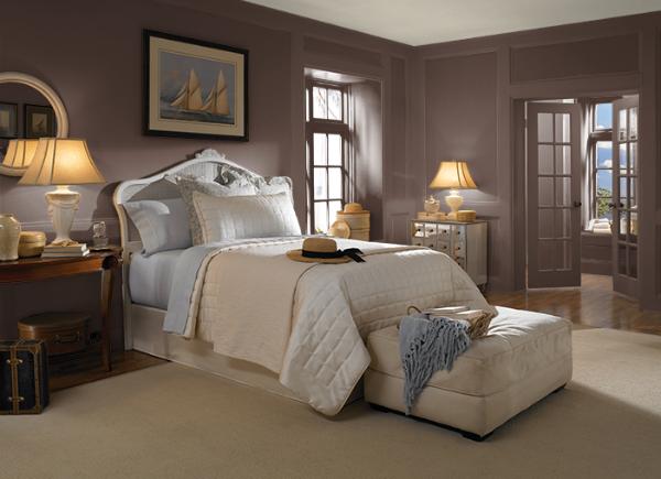 warna bilik tidur_ Heritage Oak_behr