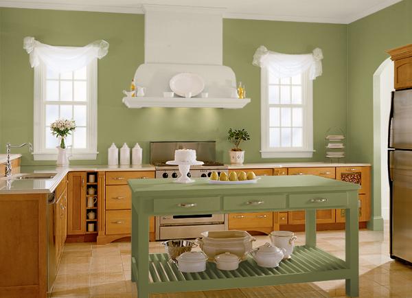 Warna Yg Cocok Untuk Ruang Dapur