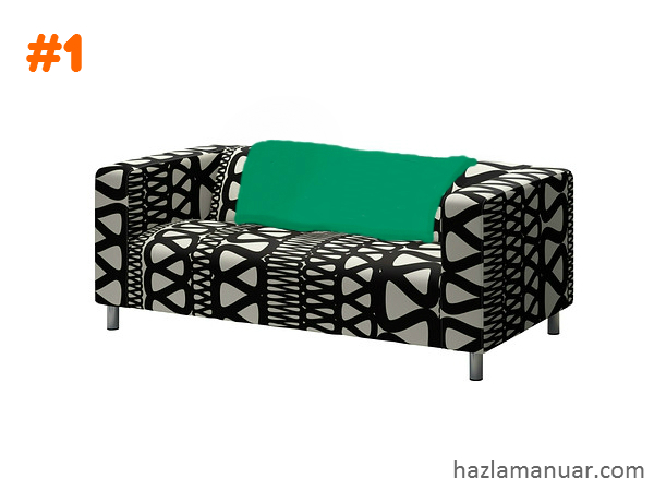 Tip dekor pantas sofa dan throw_idea 1