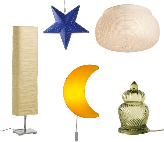 jenis lampu IKEA
